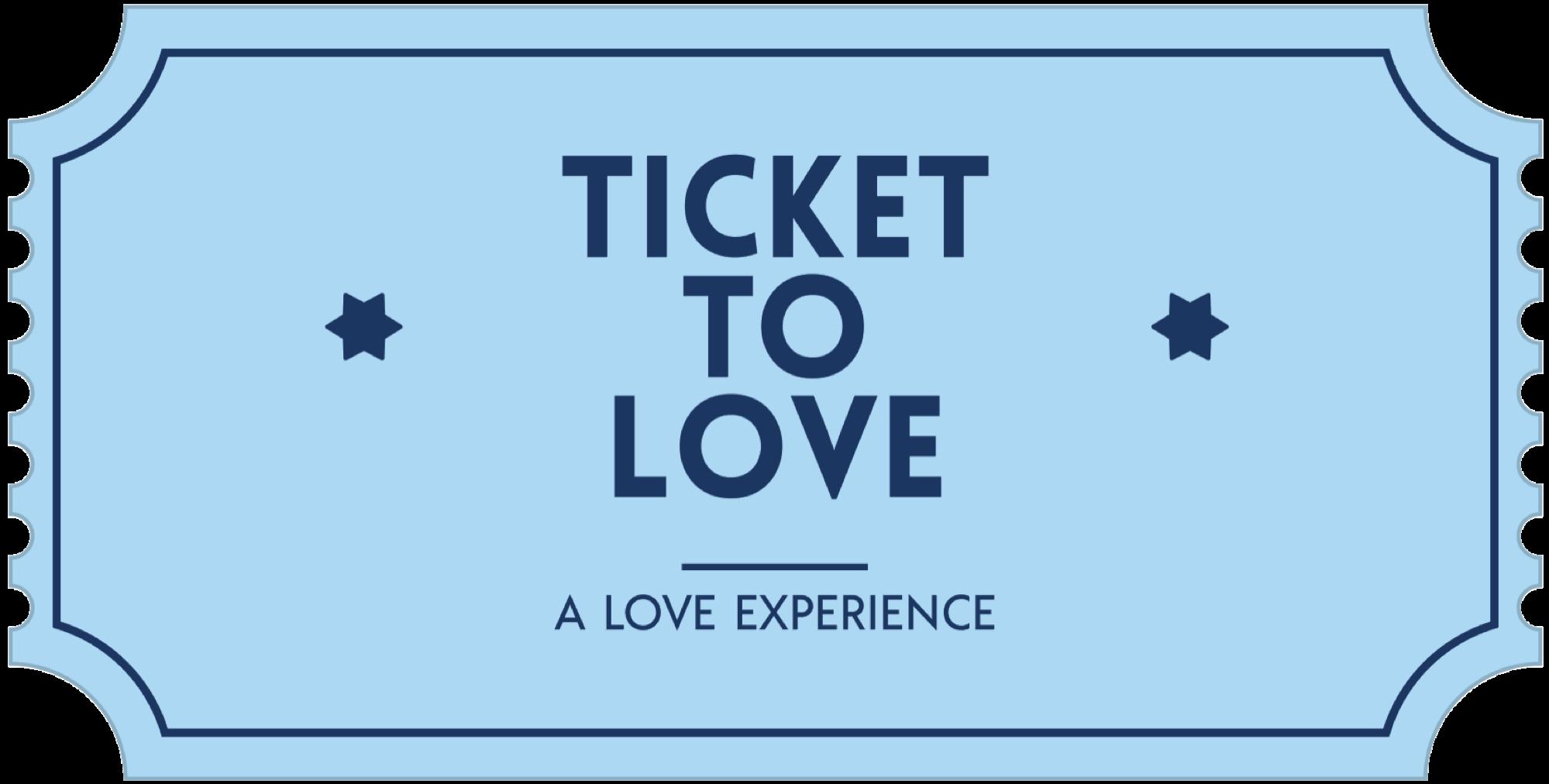Ticket To Love - il biglietto